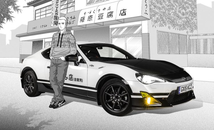 Toyota GT86 Initial D concept