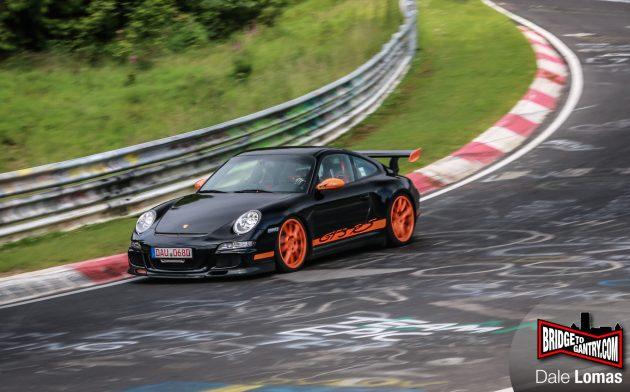 Toyota testing Porsche 911 GT3 RS-Nurburgring