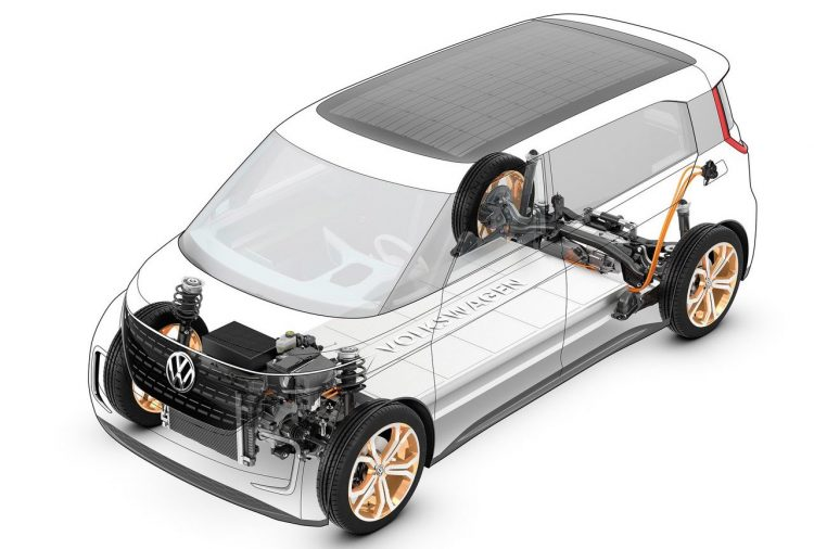 Volkswagen EV Budd-E concept