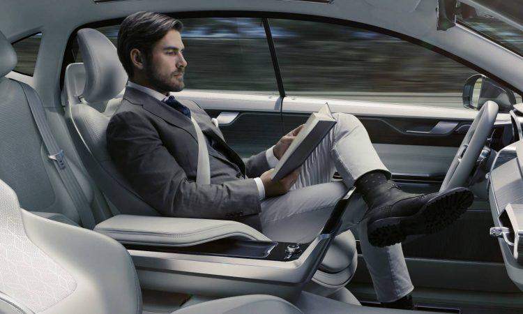 Volvo Concept 26 autonomous