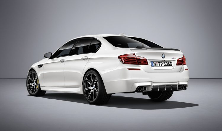 2016 BMW M5 Competition Edition-rear