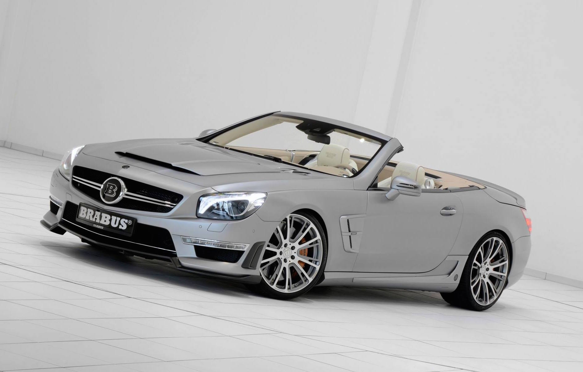 Brabus 800 Is One Beastly Mercedes Sl 65 Amg