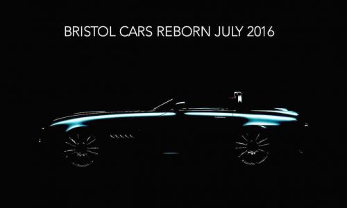 Bristol Bullet previewed, all-new sports car