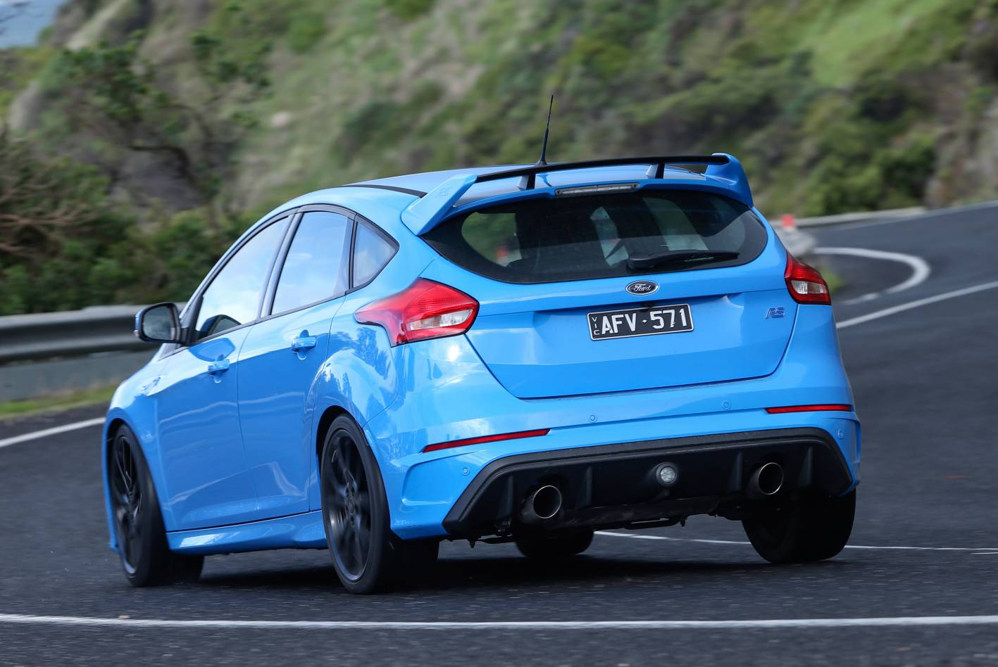 2016 Mustang Spoiler >> 2016 Ford Focus RS now on sale in Australia from $50,990 | PerformanceDrive