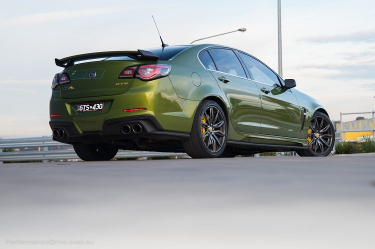 2016 HSV GTS GEN-F2 rear