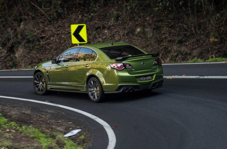 2016 HSV GTS-taillights