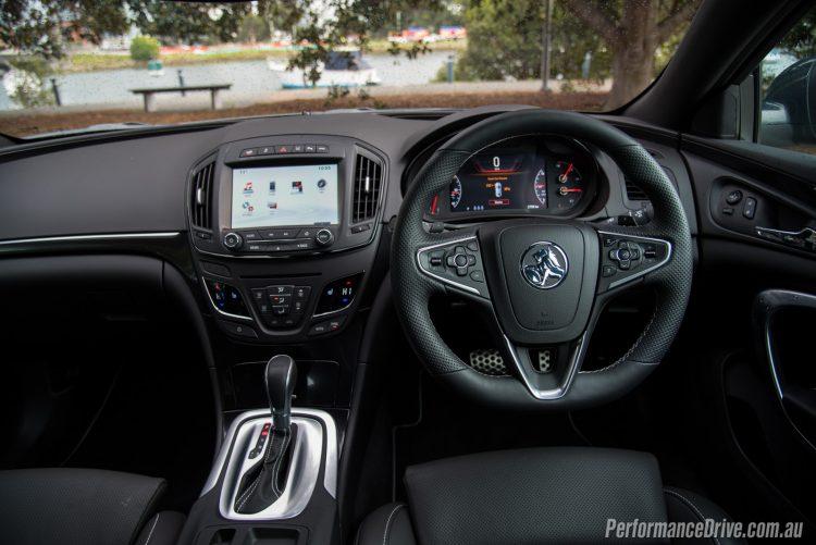 2016 Holden Insignia VXR-interior