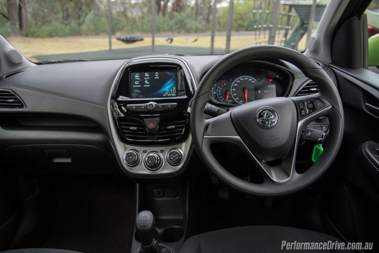 2016 Holden Spark LS-dash