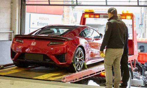 New Honda NSX arrives in Australia for promo tour