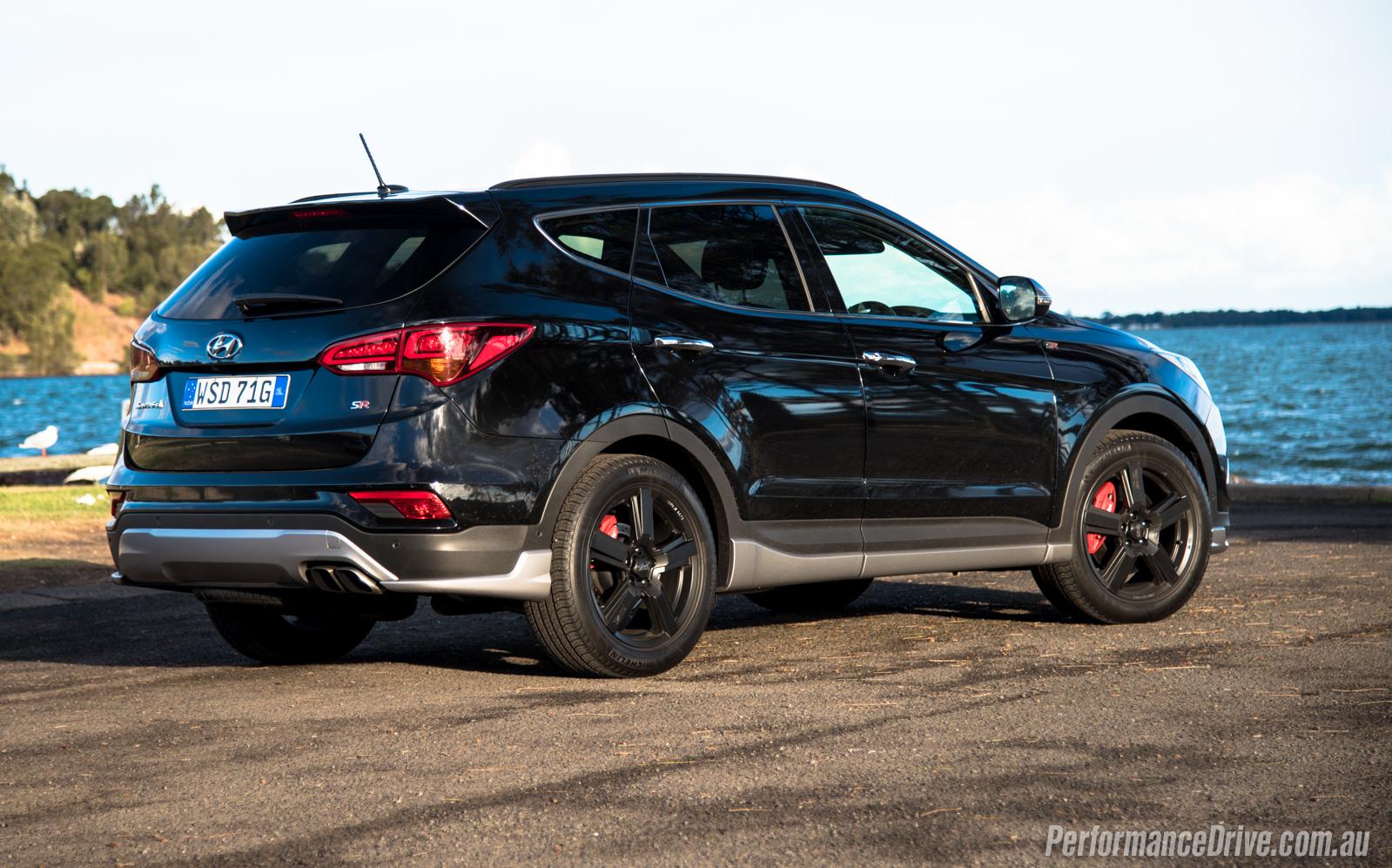 2016 Hyundai Santa Fe >> 2016 Hyundai Santa Fe SR review (video) | PerformanceDrive