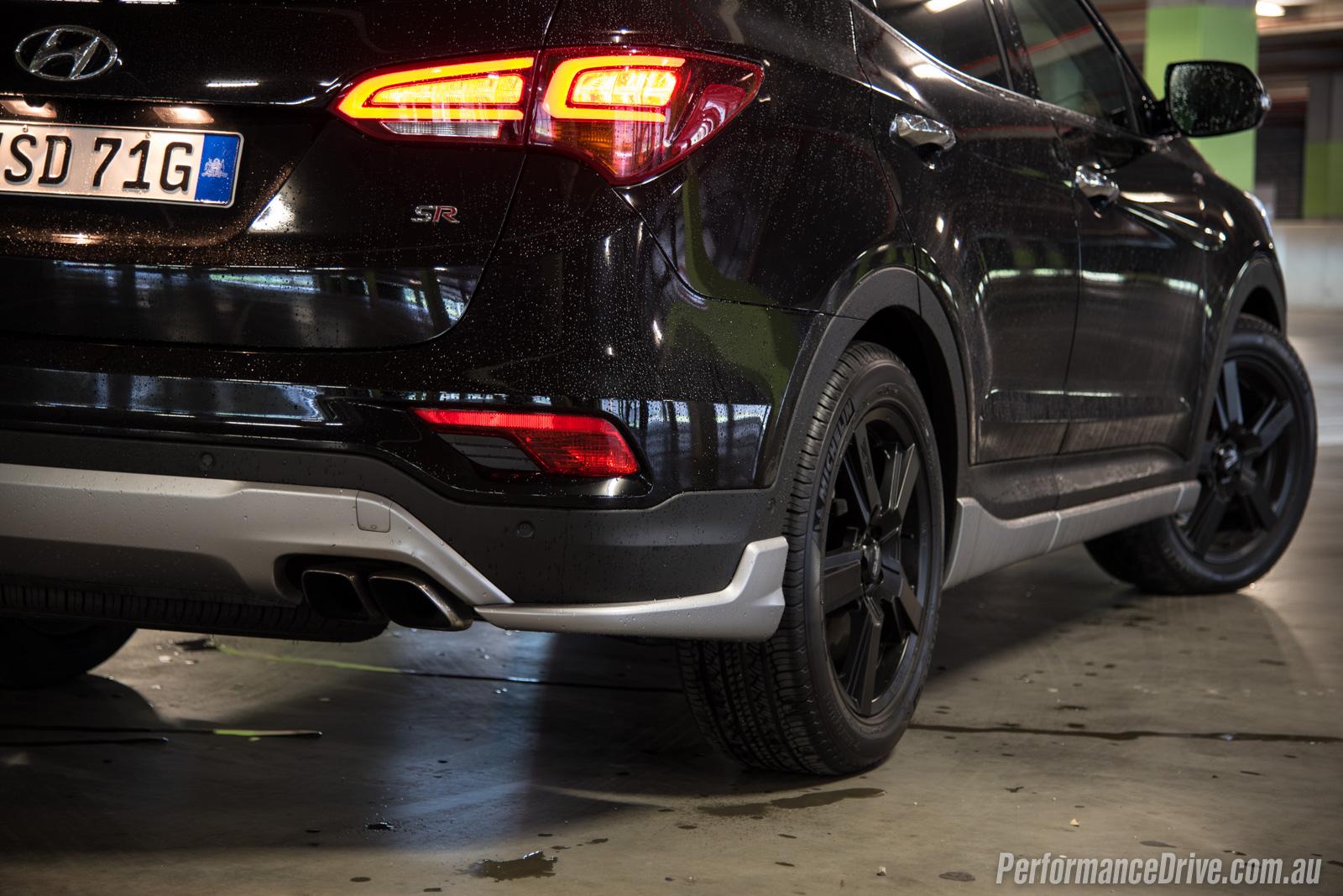 2016 Hyundai Santa Fe SR review (video)   PerformanceDrive