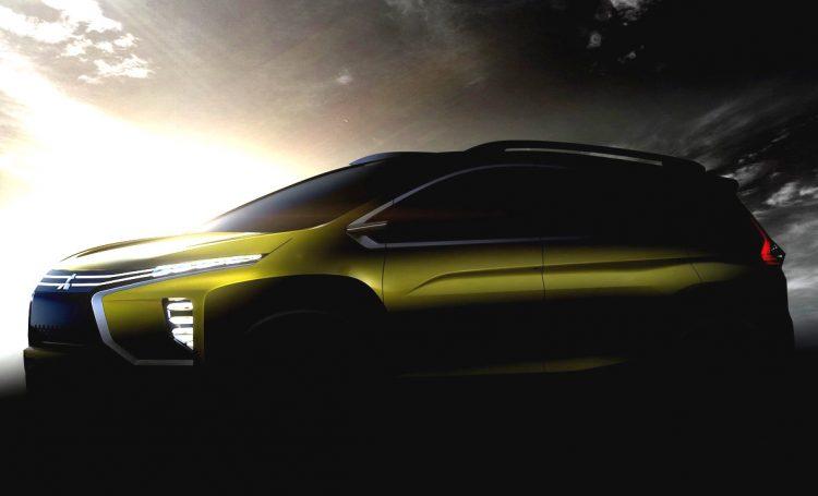 2016 Mitsubishi MPV concept-Indonesia