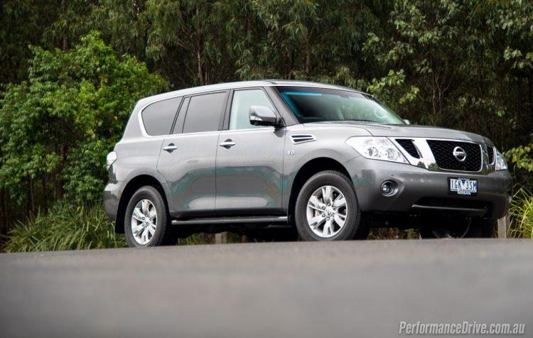 2016 Nissan Patrol Ti-grey