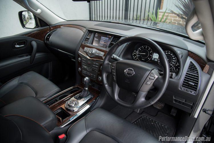2016 Nissan Patrol Ti-interior