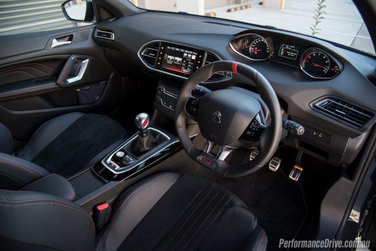 2016 Peugeot 308 GTi 250-interior