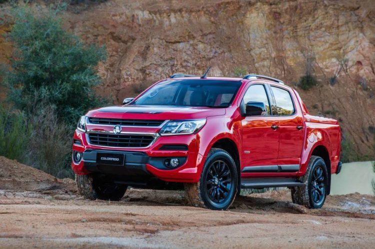 2017 Holden Colorado Z71-front