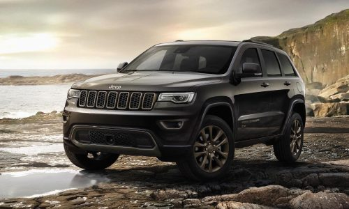 2017 Jeep Grand Cherokee gets new shifter, electric steering, stop-start