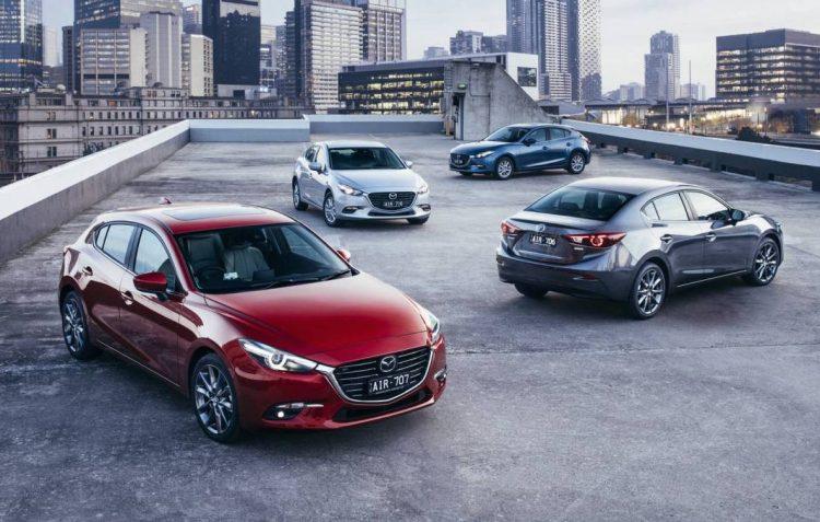 2017 Mazda3 range-Australia