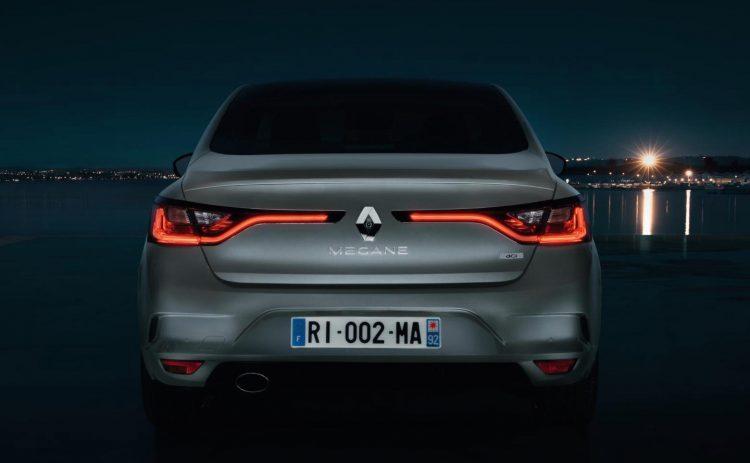 2017 Renault Megane sedan-taillights