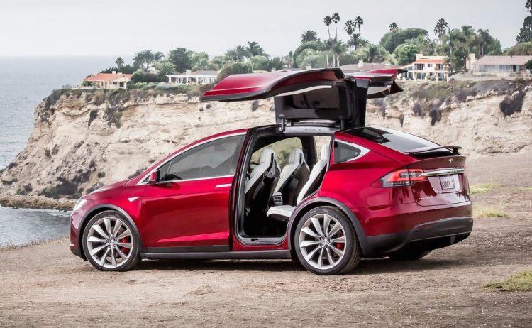 2017 Tesla Model X-doors