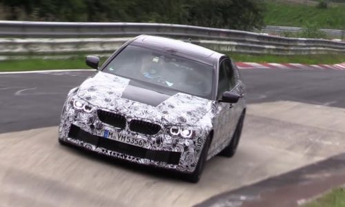 Video: 2018 BMW M5 'F90' spied on Nurburgring, with AWD?