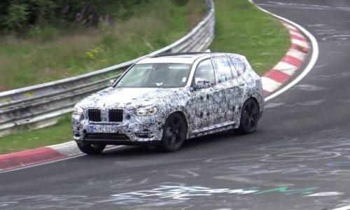 2018 BMW X3 M confirmed, barking prototype hits Nurburgring