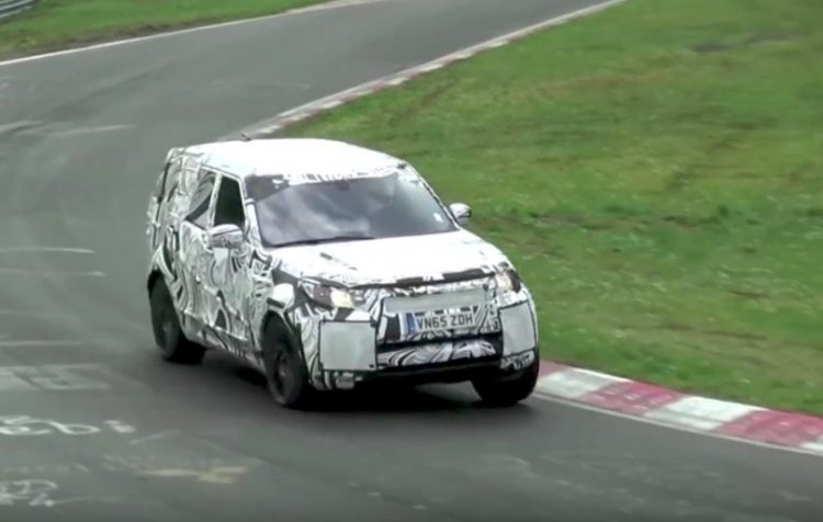 2018 Land Rover Discovery prototype