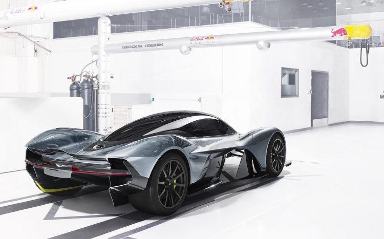 Aston Martin Red Bull AM-RB 001-rear