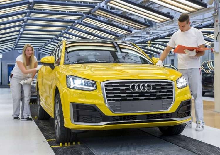 Audi Q2 production