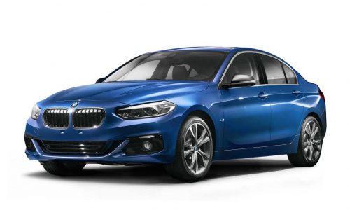 BMW 1 Series Sedan revealed, for China only