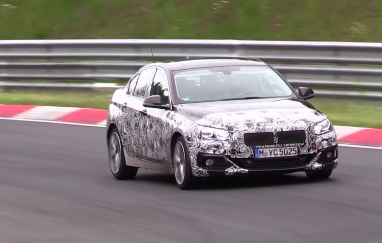 BMW 2 Series Gran Coupe prototype