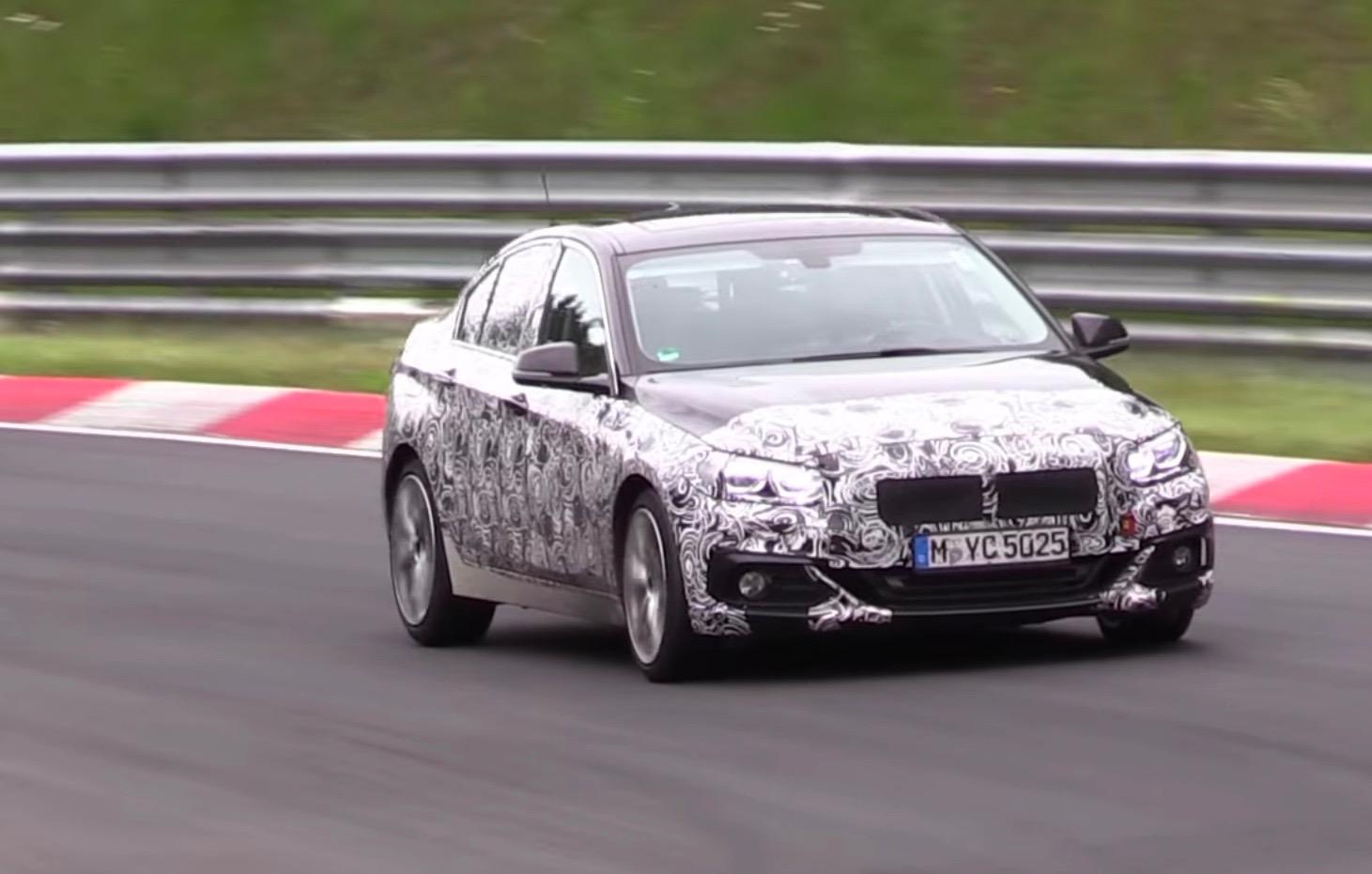 BMW 2 Series Gran Coupe Prototype