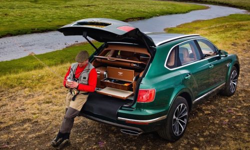 Bentley Bentayga fishing kit by Mulliner announced