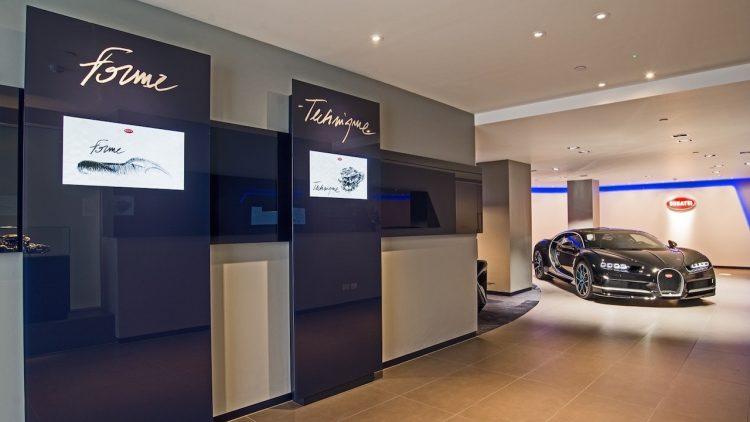 Bugatti Chiron London showroom-1