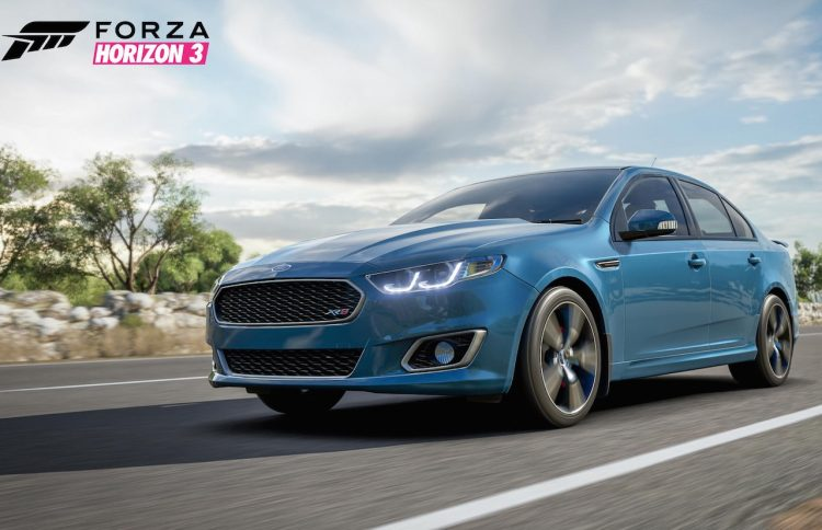 Forza Horizon 3-Ford Falcon XR8