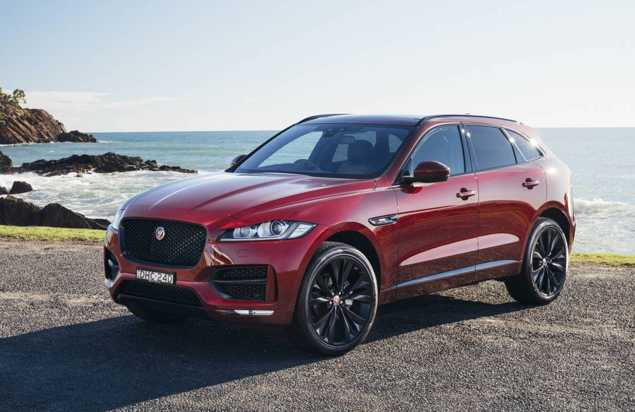 Electric Cars 2018 >> Jaguar F-Pace now on sale in Australia from $74,340 | PerformanceDrive