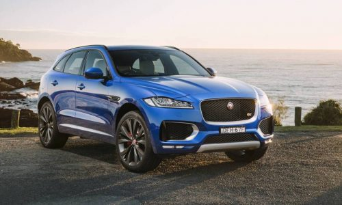 Jaguar F-Pace now on sale in Australia from $74,340