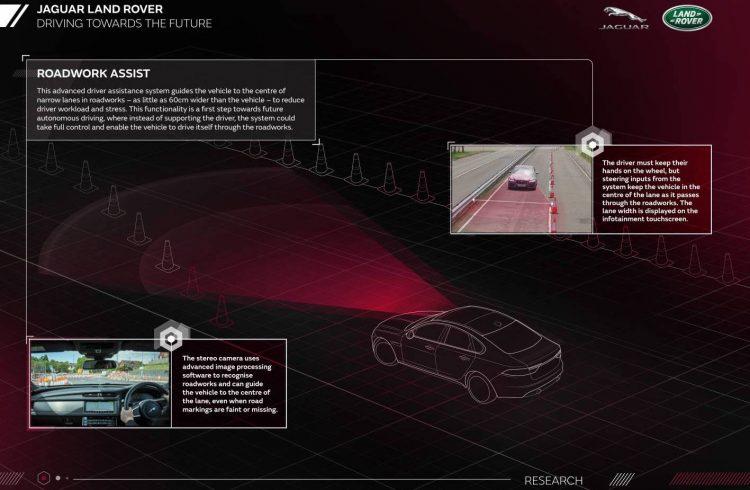 Jaguar Land Rover-Roadwork Assist