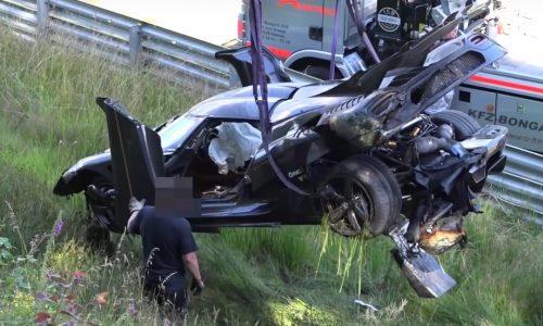 Koenigsegg confirms Nurburgring crash due to ABS failure