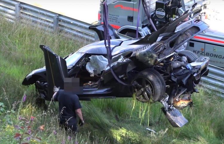 Koenigsegg Nurburgring crash