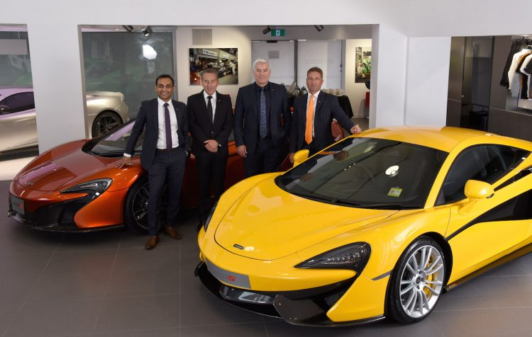 McLaren Gold Coast Showroom-design director