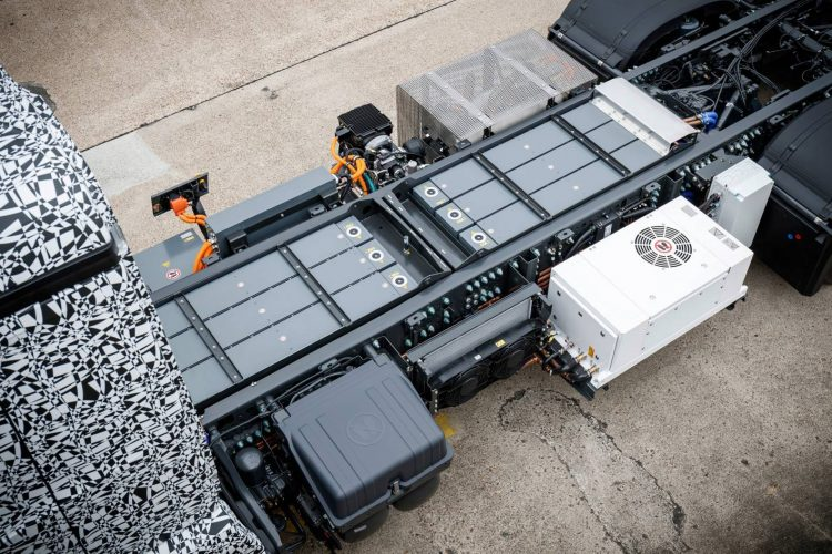 Mercedes-Benz Urban e-Truck-batteries