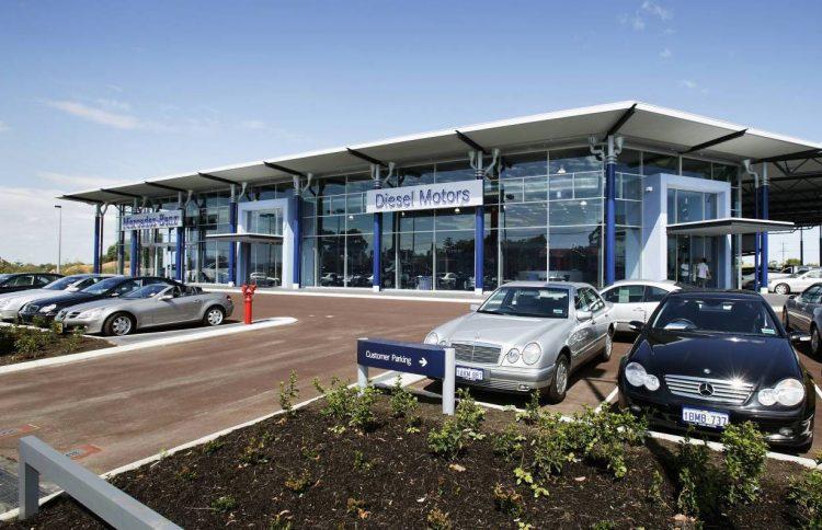 Mercedes-Benz dealership