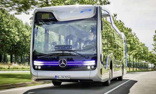 Mercedes bus concept shows off potential autonomous future