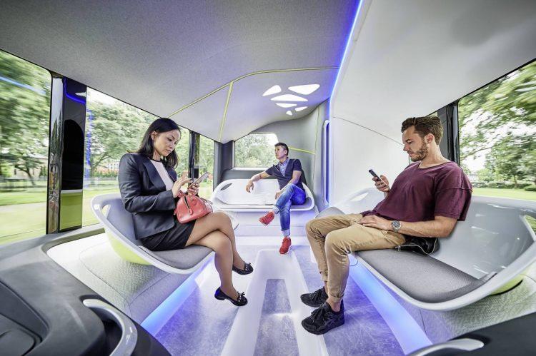 Mercedes-Benz Future Bus-interior