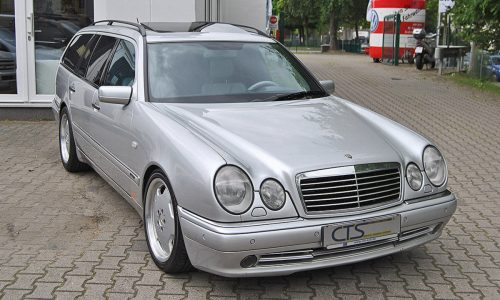 For Sale: 1998 Mercedes E 55 AMG wagon owned by Schumacher
