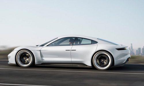 Porsche Mission E EV sports car creating 1400 jobs