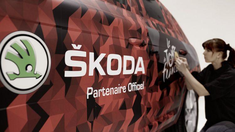 Skoda Kodiaq preview-Tour de France