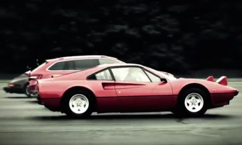 Video: Skoda Superb 206TSI races 1980s supercars