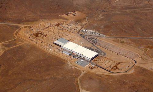 Tesla opens small (large) portion of Gigafactory